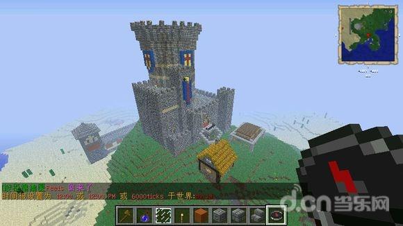 我的世界手游写给新人的城堡教程