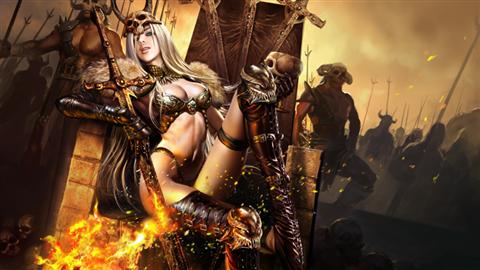 《自由之战》英雄介绍:战争女神·盖亚