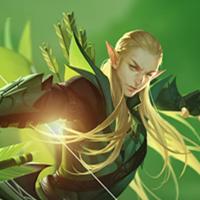 全民超神英雄精灵王子-索林
