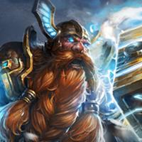 全民超神英雄矮人之神-奥力