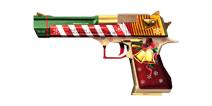 穿越火线:枪战王者武器沙鹰圣诞版
