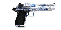 穿越火线:枪战王者武器沙鹰-青花瓷