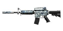 穿越火线:枪战王者武器M4A1-青花瓷