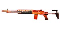 穿越火线:枪战王者武器M14EBR-火焰