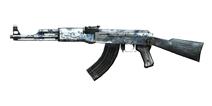 穿越火线:枪战王者武器AK47-青花瓷