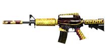 穿越火线:枪战王者武器M4A1-齐天大圣