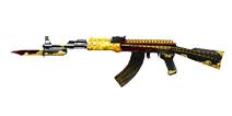穿越火线:枪战王者武器AK47-齐天大圣