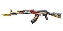 穿越火线:枪战王者武器AK47-苍龙