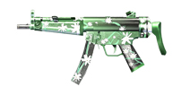 穿越火线:枪战王者武器MP5-茉莉