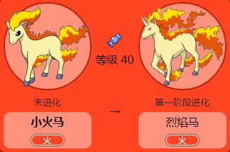口袋妖怪GO烈焰马
