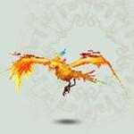 诛仙宠物彩翼黄鸟