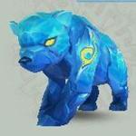 诛仙宠物稀有冰焰熊