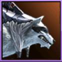 天堂2:血盟坐骑白色鬃毛狼