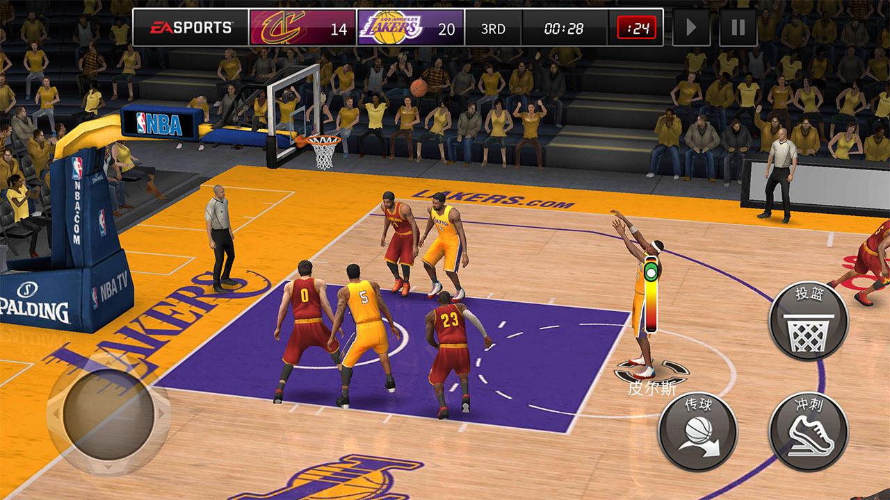 NBA live手游_截图