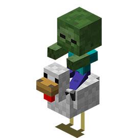 我的世界鸡骑士
