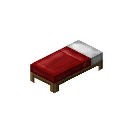 我的世界道具床