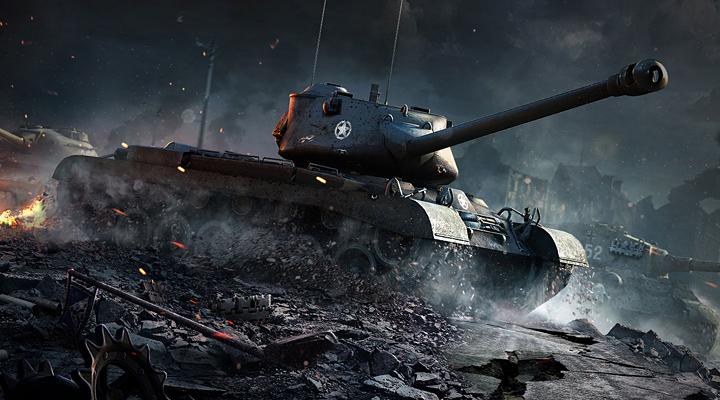这是飞翔的感觉,这是爆菊的感觉 当乐试玩视频:《坦克世界闪击战》