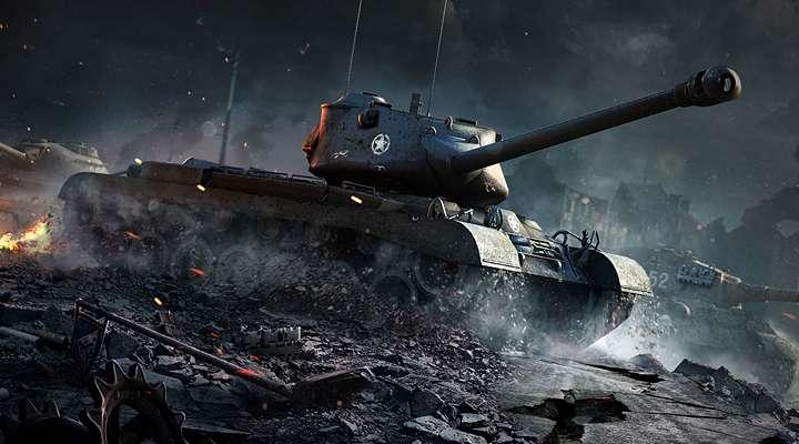 这是飞翔的感觉,这是爆菊的感觉 当乐试玩亚虎国际:《坦克世界闪击战》