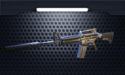小米枪战枪械M4A1-A