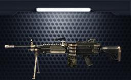小米枪战枪械M249