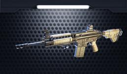 小米枪战枪械HK417