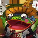决战!平安京式神青蛙瓷器