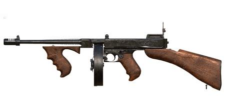 绝地求生:刺激战场武器汤姆逊冲锋枪