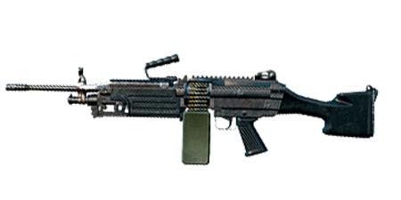 绝地求生:刺激战场武器M249