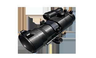 绝地求生:刺激战场配件2倍 瞄准镜