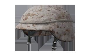 绝地求生:刺激战场物资军用头盔 (沙漠迷彩) (2级)