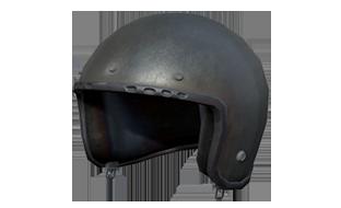 绝地求生:刺激战场物资摩托车头盔(灰色)(1级)