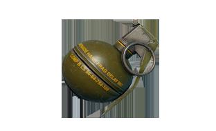 绝地求生:刺激战场物资破片手榴弹