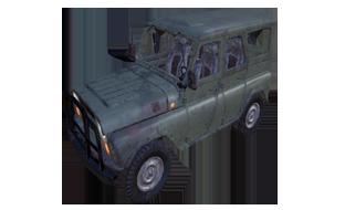 绝地求生:刺激战场载具越野车